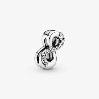 Reflexions Clip Charm - Zilver | Pandora