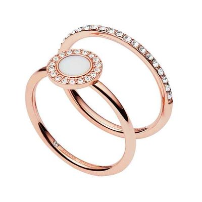 Ring - Staal | Fossil
