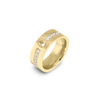 Ring - Staal   Melano