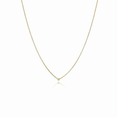 Collier - Briljant 18kt | Miss Spring