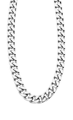 Collier - Staal   Lotus