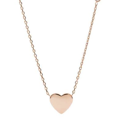 Collier - Staal | Fossil